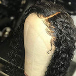 Cheap Indian virgin Curly Human Hair Lace Wigs Pre Plucked hair line with baby hair for black woman