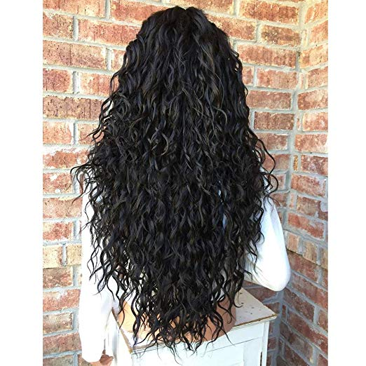 Brazilian-Virgin-hair-long-wave-Human-Hair-Lace-Wigs-Pre-Plucked-Free-Part