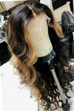 Brown-Ombre-Lace-Front-Human-Hair-Wigs