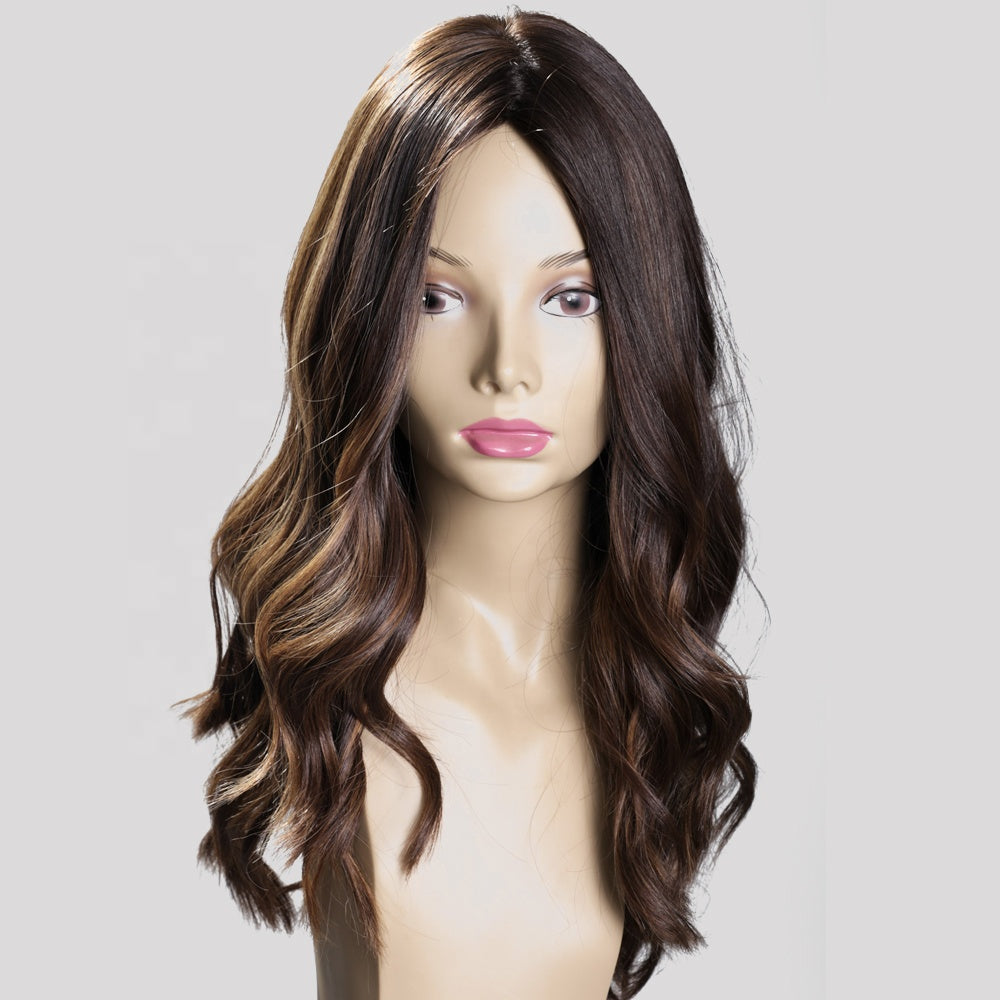 100-European-Virgin-Human-Hair-Silk-Top-Jewish-Wigs-Dark-Brown-Highlighted