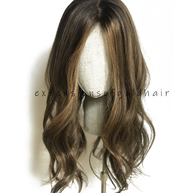 Unprocessed-Brazilian-Virgin-Human-Hair-Silk-Base-Women's-Hair-Toppers