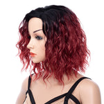 Red-Dark-Rooted-Synthetic-Short-Medium-Wavy-Wigs