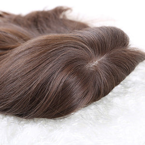Real-European-Human-Hair-Wigs-Dark-Brown