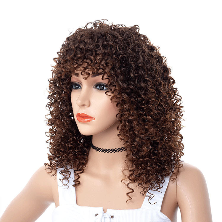 Brown-Tight-Jerry-Kinky-Curly-Wigs-Synthetic-Hair-Capless-Spiral-Curl-Wigs-For-Sale