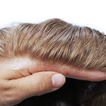 Blonde-Natural-Hairline-Mens-Wigs-Hair-Pieces-0.06-Ultra-Thin-Skin-Human-Hair-Toupee-For-Men