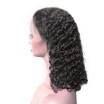 Curly Human Hair Wig Brazilian Short Bob Lace Front Human Hair Wigs Pre Pluck Hairline With Baby Hair
