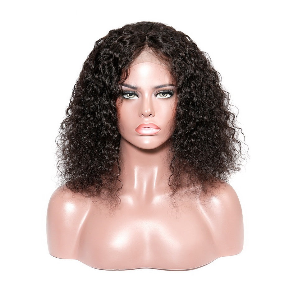 Afro-Kinky-Curly-Lace-Front-Human-Hair-Wigs-With-Bangs