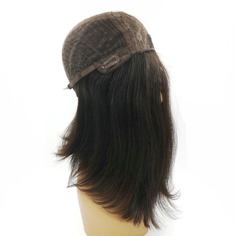 Top Grade Skin Kosher Wig For Jew Long Natural Wave High Quality European Remy Hair