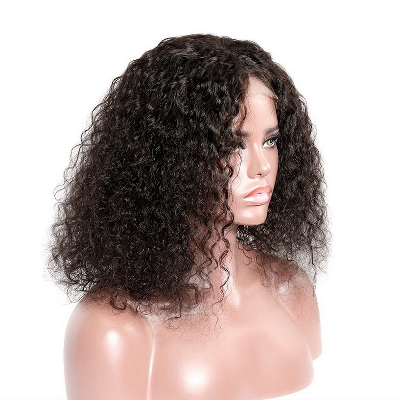 Afro-Kinky-Curly-Lace-Front-Human-Hair-Wigs-With-Bangs-Brazilian-Virgin-Hair
