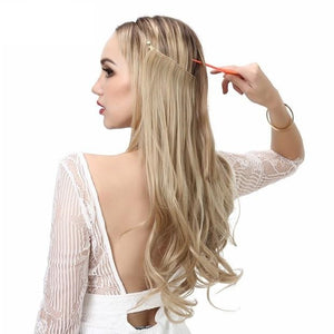 Ombre-Bayalage-Heat-Friendly-Synthetic-Hair-Natural-Wave-Halo-Hair-Extensions-Flip-Crown-Extensions