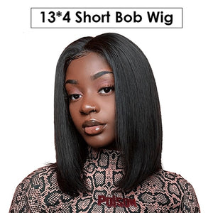 Blonde-Lace-Front-Wig-Brazilian-Virgin-Hair-613-Lace-Front-Bob-Human-Hair-Wigs-For-Black-Women