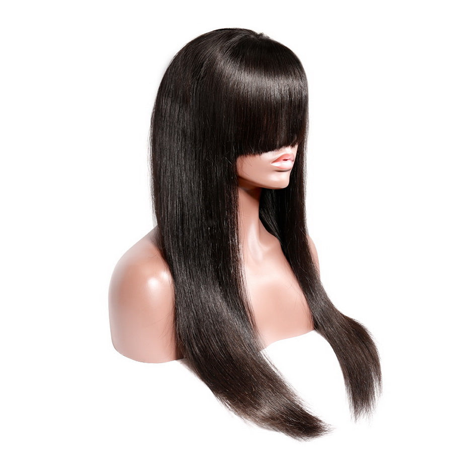 Affordable-Lace-Front-Human-Hair-Wigs-With-Bangs-Brazilian-Virgin-Hair-Straight