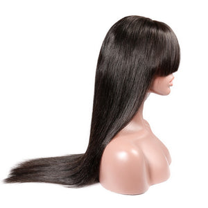 Long-Straight-Lace-Front-Human-Hair-Wigs-With-Bangs-Brazilian-Virgin-Hair