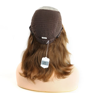 Brown-Highlights-Human-Hair-Jewish-Women-Wigs-Sheitel