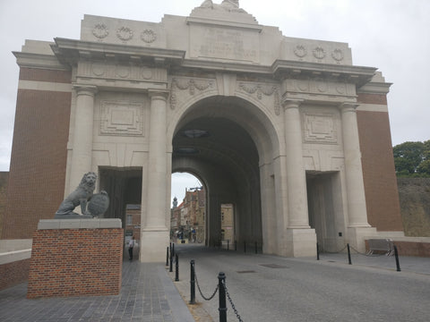 Menin Gate During Rally Ypres