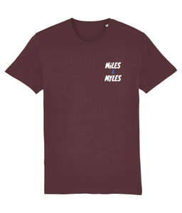 White Miles & Myles Top Pocket T-Shirt - Miles & Myles