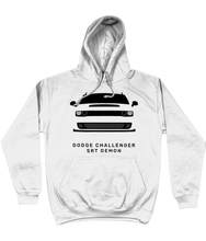 Load image into Gallery viewer, Dodge Challenger Demon Hoodie (White)