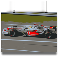 Load image into Gallery viewer, Lewis Hamilton McLaren MP4-23 Poster