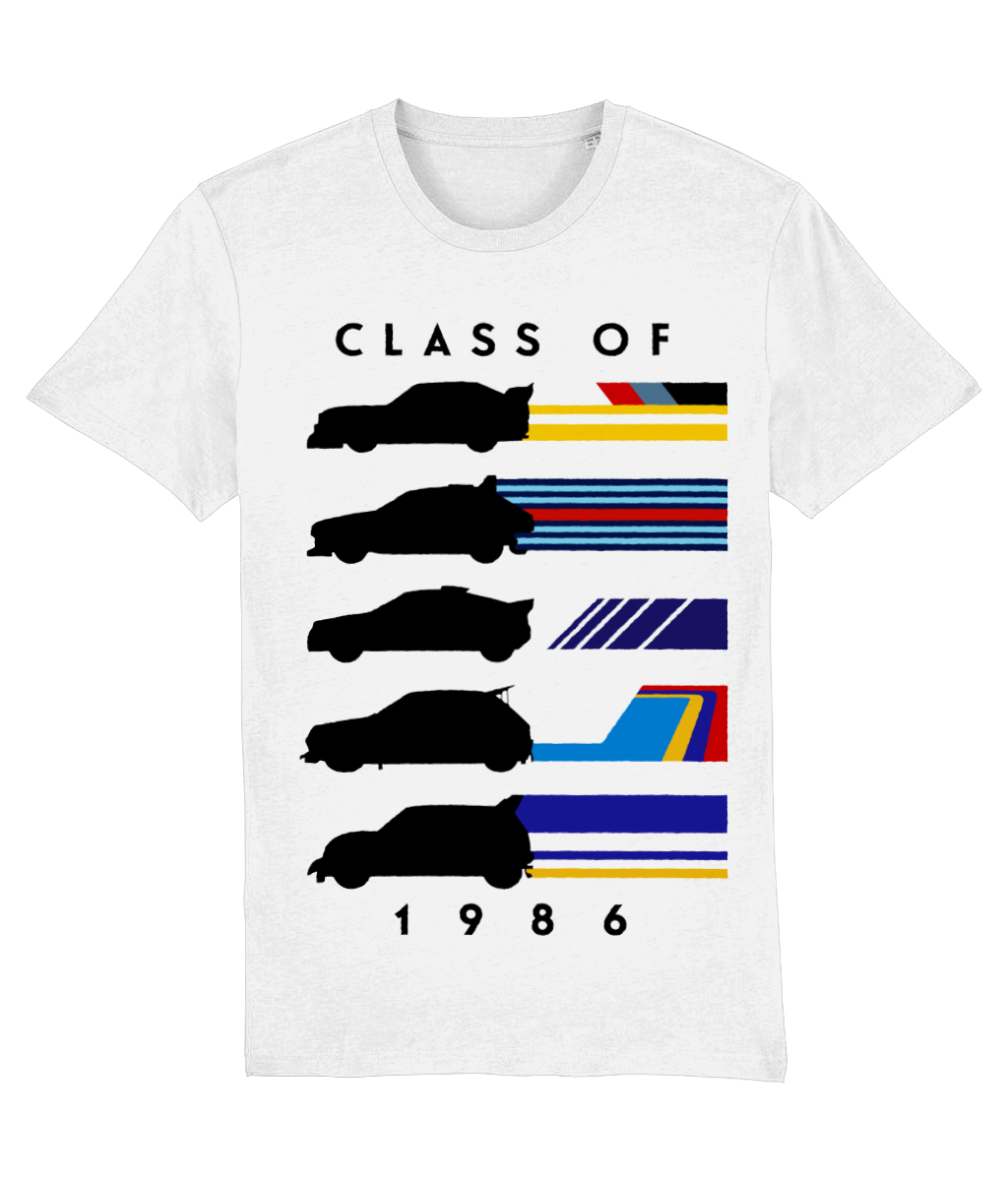 Group B 1986 Silhouette Livery T-Shirt - Miles & Myles