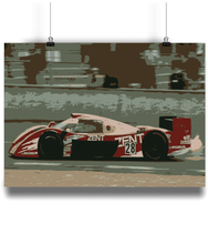 Load image into Gallery viewer, Toyota GT One Le Mans 24hr 1998 Fine Art Motorsport Poster - Miles & Myles