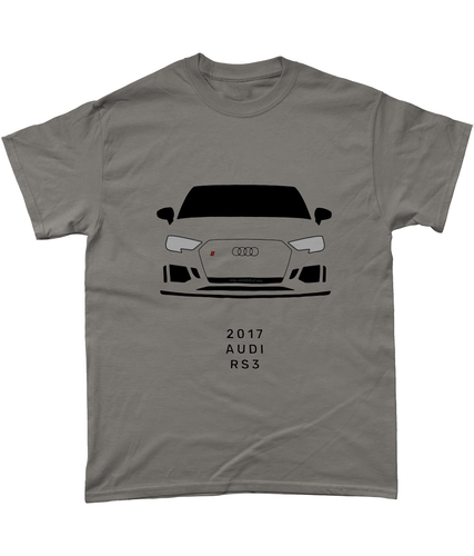 Audi RS3 T-shirt (GRAY)