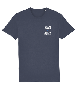 White Miles & Myles Top Pocket T-Shirt