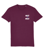 Load image into Gallery viewer, White Miles & Myles Top Pocket T-Shirt - Miles & Myles