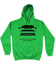 Load image into Gallery viewer, Dodge Challenger Demon Hoodie (Green)