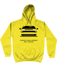 Load image into Gallery viewer, Dodge Challenger Demon Hoodie (Yellow)