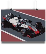 Load image into Gallery viewer, HAAS F1 Team poster