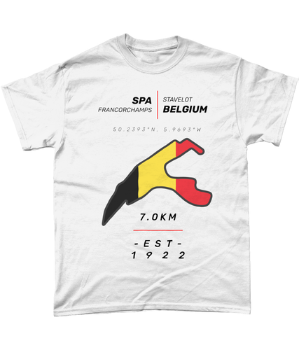 Circuit de Spa Francorchamps T-Shirt