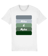 Load image into Gallery viewer, British Racing Green Miles & Myles T-Shirt
