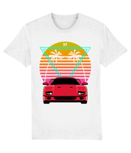 Load image into Gallery viewer, Retro Ferrari F40 T-Shirt 🎨 - Miles & Myles