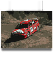 Load image into Gallery viewer, Mitsubishi Evo V/5 driven by Tommi Makinen