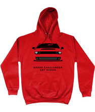 Load image into Gallery viewer, Dodge Challenger Demon Hoodie (Red)
