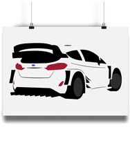 Load image into Gallery viewer, Ford Fiesta WRC Poster - Miles & Myles