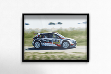 Load image into Gallery viewer, Freddy Loix Rally Car Poster