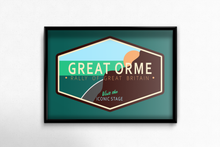 Load image into Gallery viewer, Rally of Great Britain - The Great Orme Welcome Sign - Miles & Myles