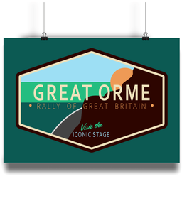 Rally of Great Britain - The Great Orme Welcome Sign - Miles & Myles