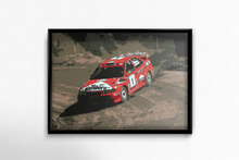 Load image into Gallery viewer, Mitsubishi Lancer Evolution V driven by Tommi Makinen in the World Rally Championship