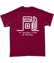 Load image into Gallery viewer, My Blood Type is Petrol T-Shirt 🎨