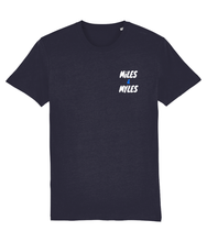 Load image into Gallery viewer, White Miles & Myles Top Pocket T-Shirt
