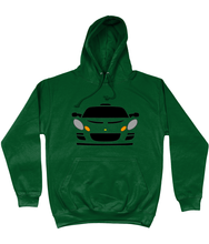 Load image into Gallery viewer, Bottle Green Lotus Exige Hoodie
