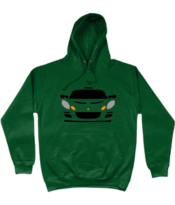 Bottle Green Lotus Exige Hoodie