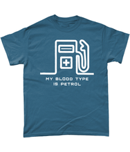 Load image into Gallery viewer, My Blood Type is Petrol T-Shirt 🎨 - Miles & Myles