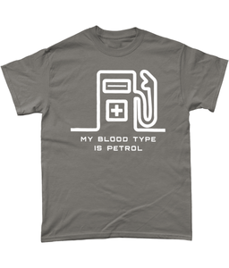 My Blood Type is Petrol T-Shirt 🎨