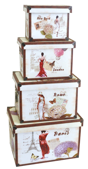 Elegance 4 Piece Storage Set