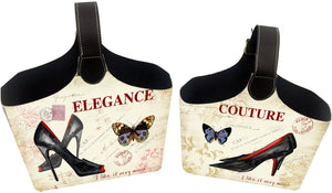 Large Elegance Magazine Holders - Storage - themayacompany