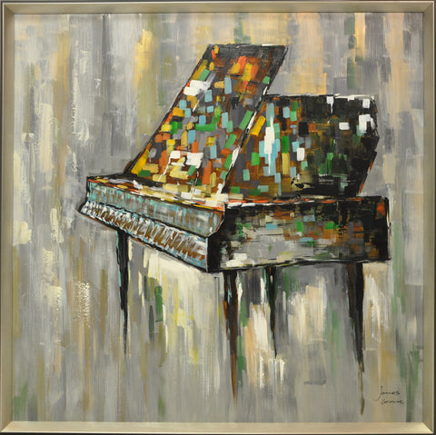 Grand Piano Painting - Wall Décor - themayacompany