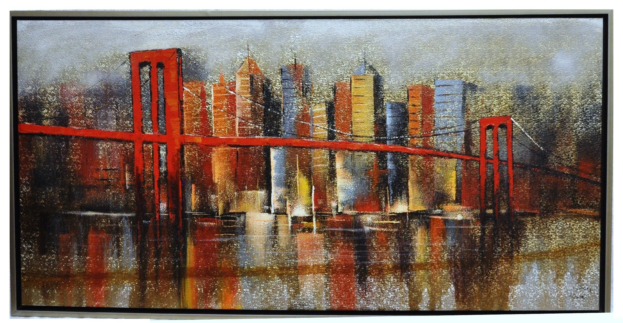 Golden Gate Bridge Painting - Wall Décor - themayacompany